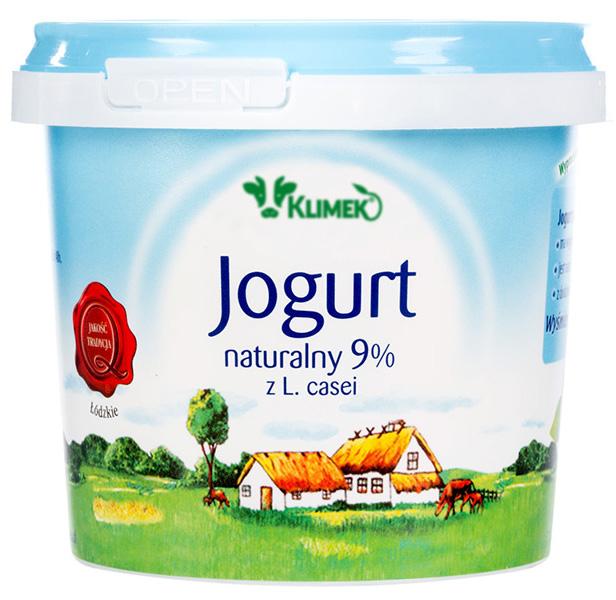Jogurt naturalny Klimeko